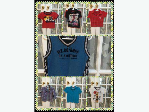 Boy clothing in all sizes