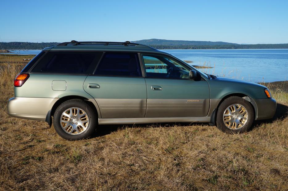 2003 Subaru Outback H6 Fanny Bay Comox Valley