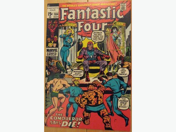 Fantastic Four #104 - Marvel Comics