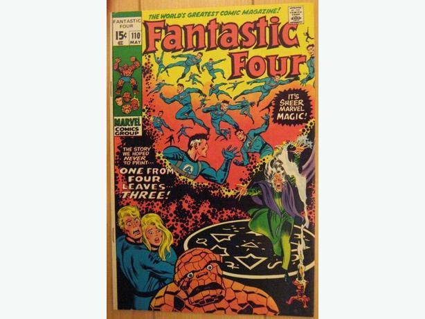 Fantastic Four #110 - Marvel Comics