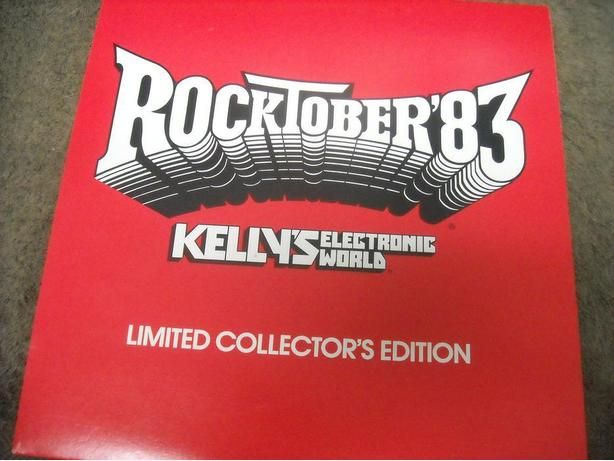 "RARE ""LIMITED COLLECTOR'S EDITION"" ROCKTOBER'83"