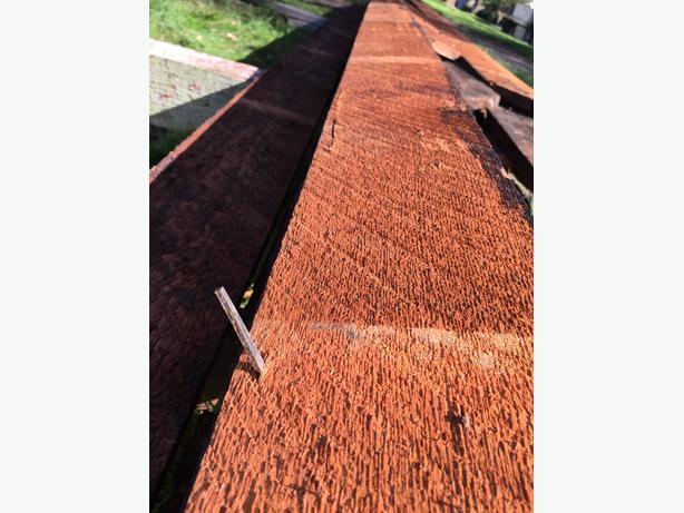 roughcut 1 x 6 edge grain very long
