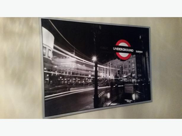  Log In needed $50 · Ikea London scene large frames print