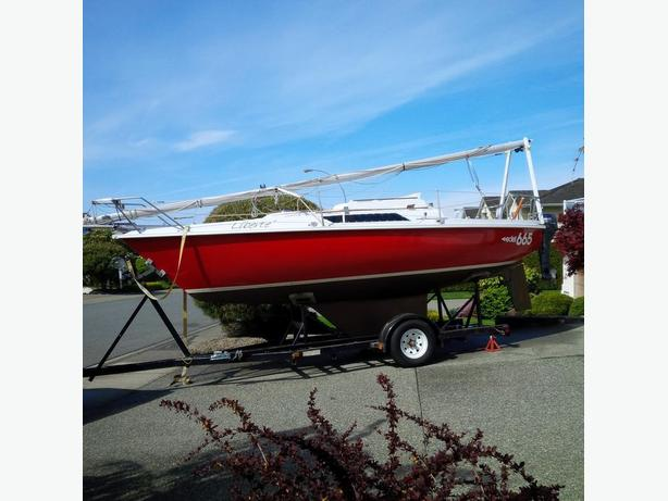 Edel 665 Sailboat w/trailer