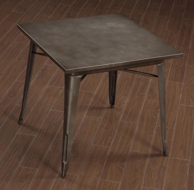 Modern Industrial Galvanized Dining Table REDUCED Victoria  : 49964475934 from www.usedvictoria.com size 640 x 628 jpeg 36kB