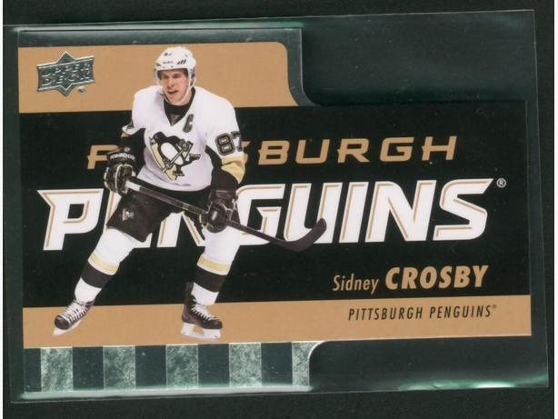 2015-16 Upper Deck Tim Horton's Die Cut Sidney Crosby Pittsburgh Penguins