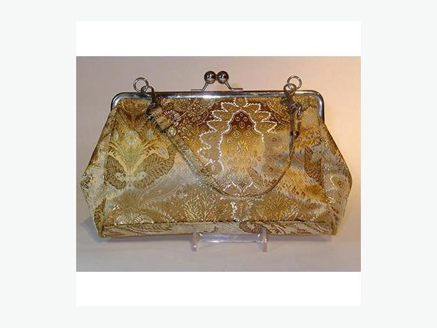 Vintage Gold Evening Bag