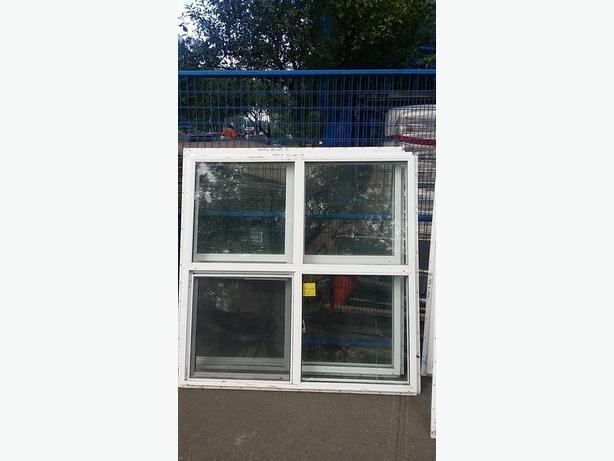 Vinyl windows with flange 54.5 x 54.5