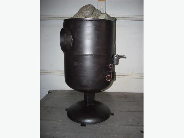 Little tubby wood stove and sauna stove