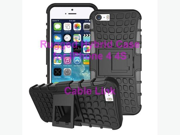 New Heavy duty rugged armor stand case for IPhone 4 4S + Free