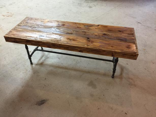 Awesome Handmade Knotty Pine Coffee Table