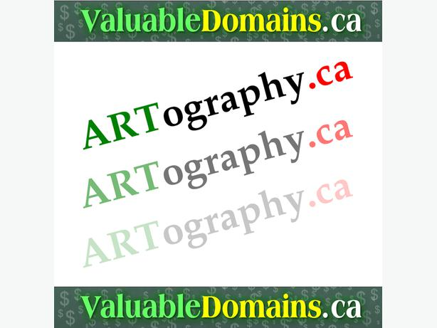 ARTography.ca - --> Domain For $ALE