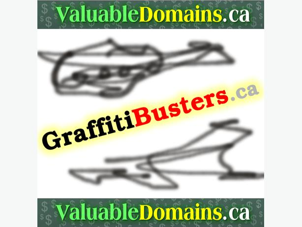 GraffitiBusters.ca  - --> Domain For $ALE