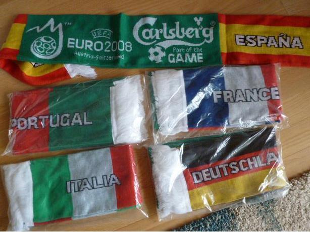 UEFA Euro 2008 scarves