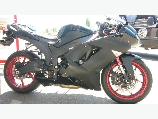 2008 Kawasaki ninja zx6r Special edition