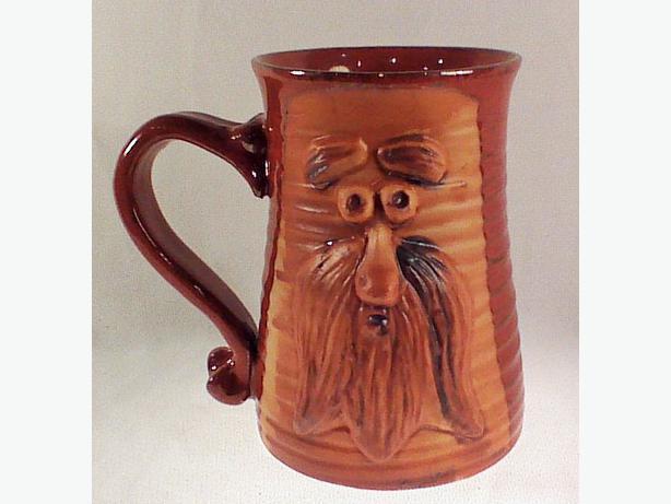 Pottery tankard