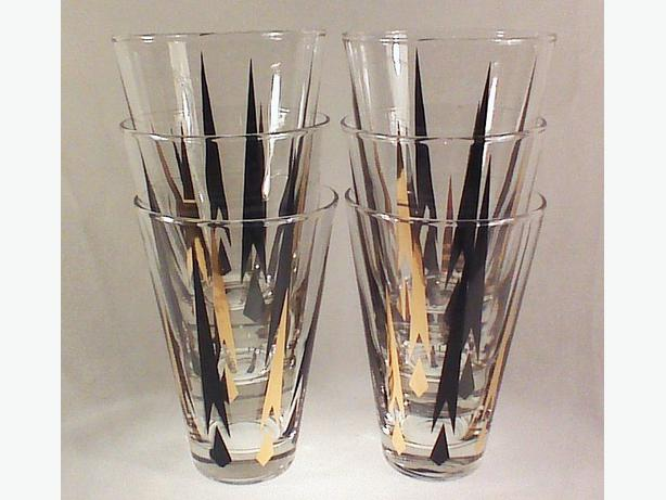 Dominion Atomic bar glasses