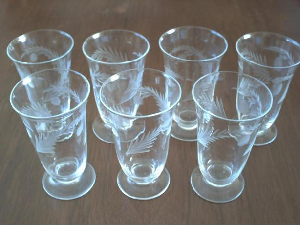7 Juice Glasses