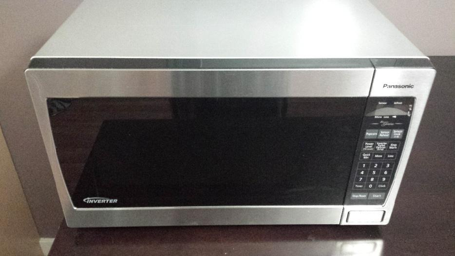 Panasonic Genius Inverter 1200w Stainless Steel Microwave