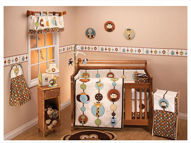 Nojo Jungle Tales Nursery Set - 6 pieces