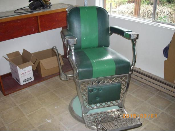 Man Cave Barber Orleans : Barber chair outside nanaimo