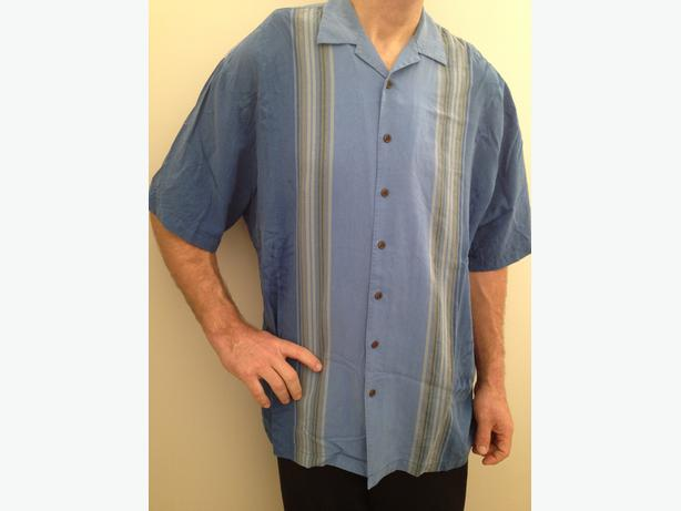 Tommy Bahama 2XLT silk shirt