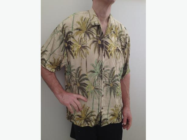 Tommy Bahama 2XL silk shirt
