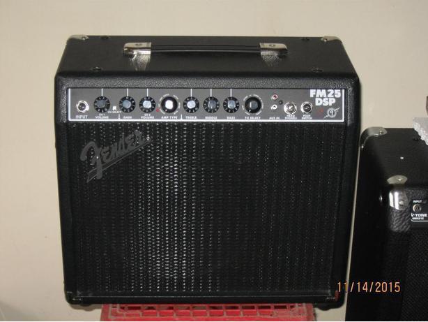 Wanted: Fender FM15DSP /FM25DSP / FM65DSP / FM212DSP amp