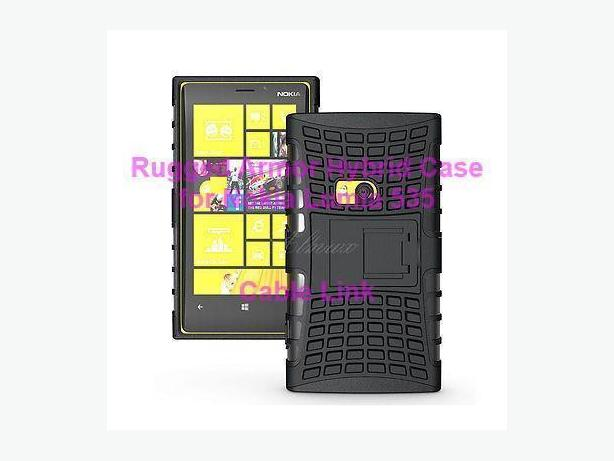 Heavy Duty Shockproof Rugged Armor Case for Nokia Lumia 535