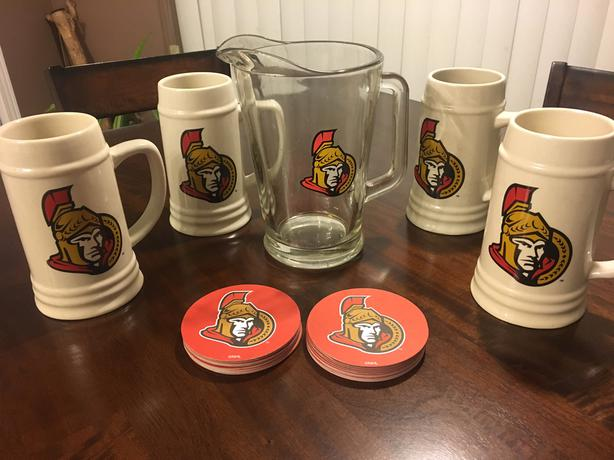 SENS Beer Pitcher and Mugs