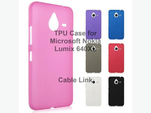 Soft TPU Silicone Case for Microsoft Lumia 640XL