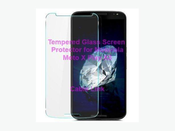 Tempered Glass Screen Protector For Motorola Moto X Play