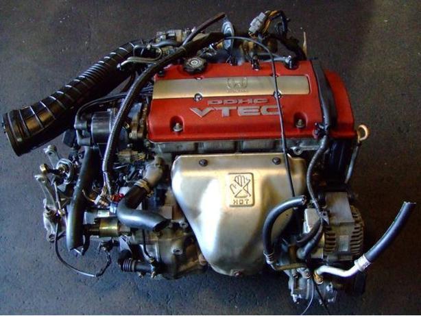 JDM HONDA EURO-R H22A COMPLETE ENGINE 5 SPEED LSD T2W4 TRANSMISSION