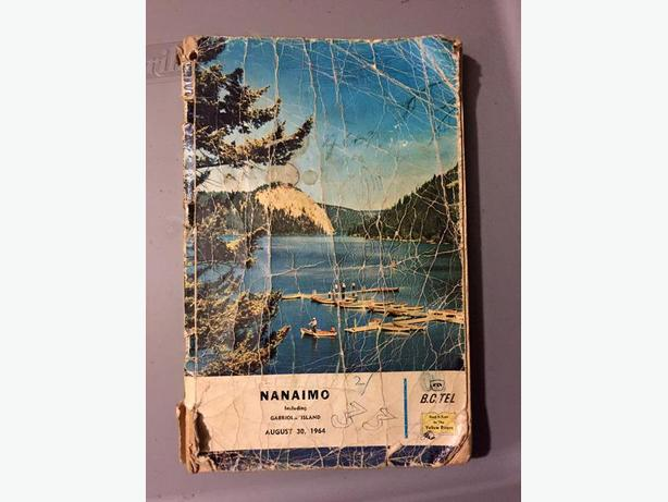 WANTED: 1970s NANAIMO PHONE BOOKS!