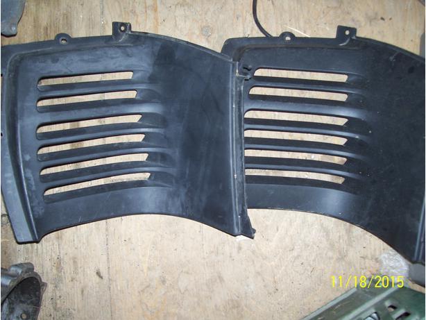 Yamaha VMax 500 600 750 Mountain Max louvers vents grills