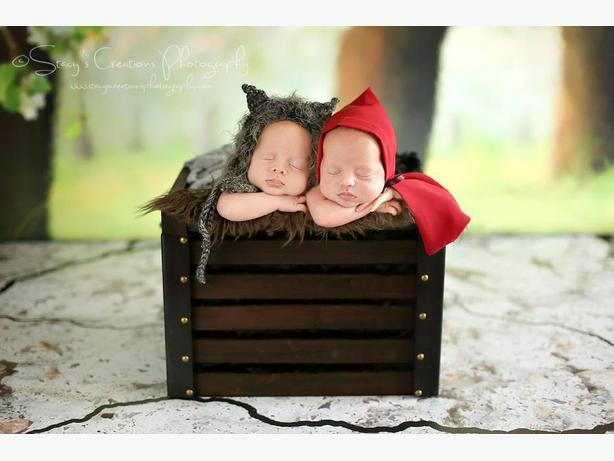 Newborn Photography Props, Hats, Sets & Upcycles