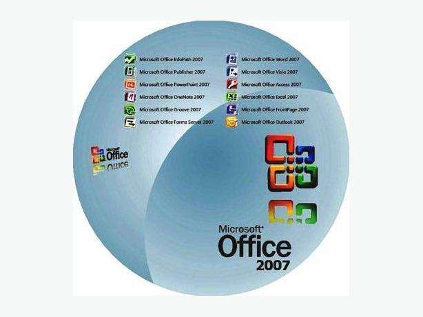 Office 2007 Authentic, English or French version, on CD
