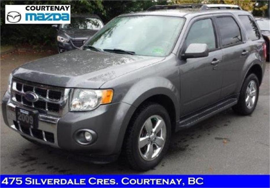 2009 ford escape limited 4d utility 4wd outside comox. Black Bedroom Furniture Sets. Home Design Ideas