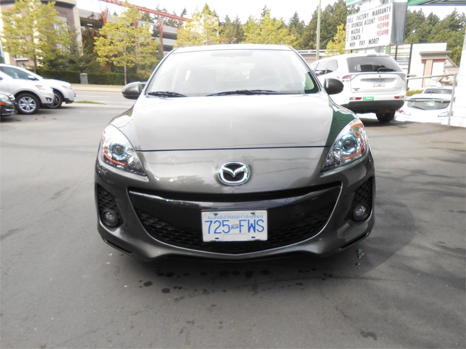 2013 Mazda Mazda3 Gs Luxury Pkg Leather Hatch West