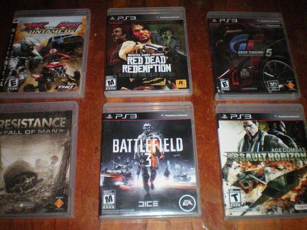 PS 3 GAMES, all excellent condition !