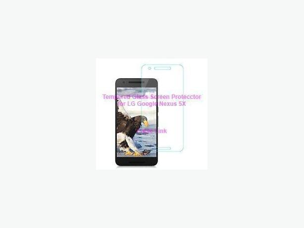 New Tempered glass screen protector for LG Google Nexus 5X