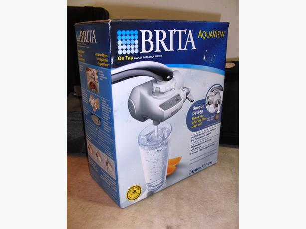 New Brita AquaView On-Tap Water Filter