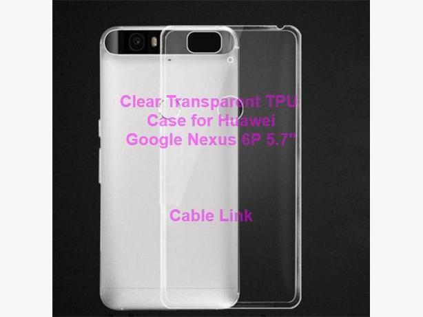 Clear TPU Protective Case for Huawei Google Nexus 6P 5.7 inch