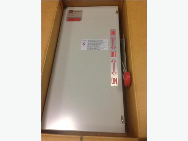 MANUAL TRANSFER SWITCH  100Amp 240Volt 1Ph
