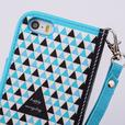 Dotted Flip Wallet Magnetic Stand Case for IPhone 6 6S 4.7 inch