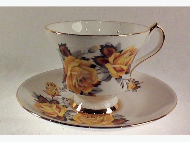 Zeller Crest teacup and saucer