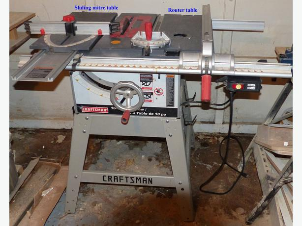 100 images table saw