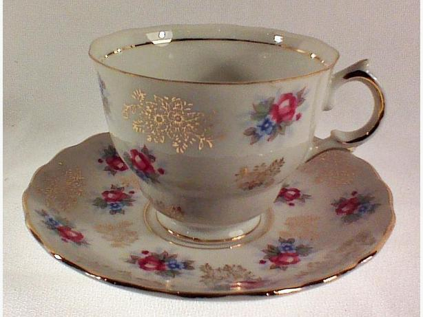 Shafford teacup & saucer