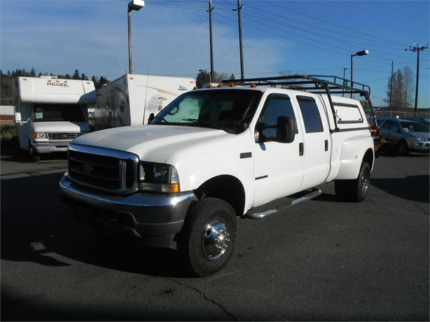 2002 ford f 350 sd xl crew cab long box 4wd dually diesel with canopy outside nanaimo nanaimo. Black Bedroom Furniture Sets. Home Design Ideas