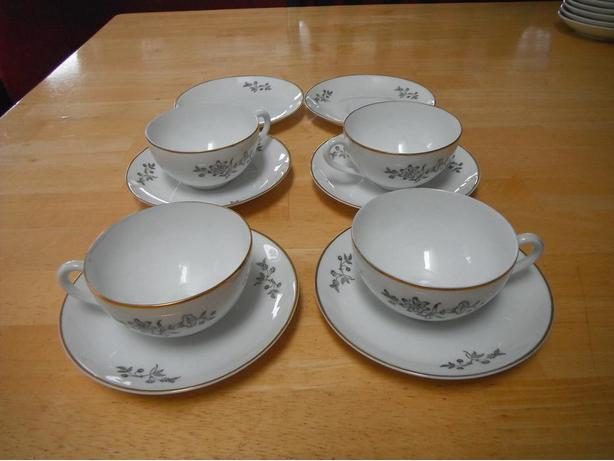 Lidkoping Espresso Fine china set- Duncan